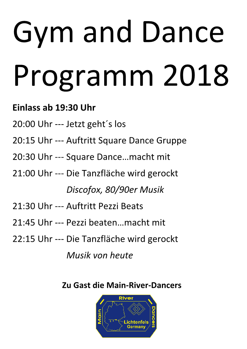 Gym and Dance Programm
